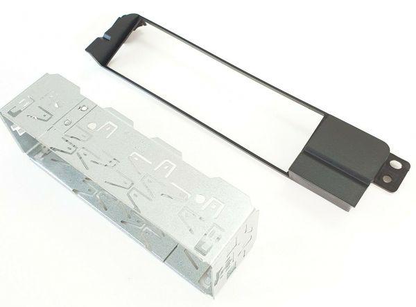 Radioblende Radioadapter Einbaurahmen für BMW 3er E46 inkl. Einbaurahmen Metall