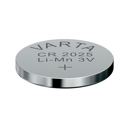 Original Varta CR2025 3V Lithium Knopfzelle