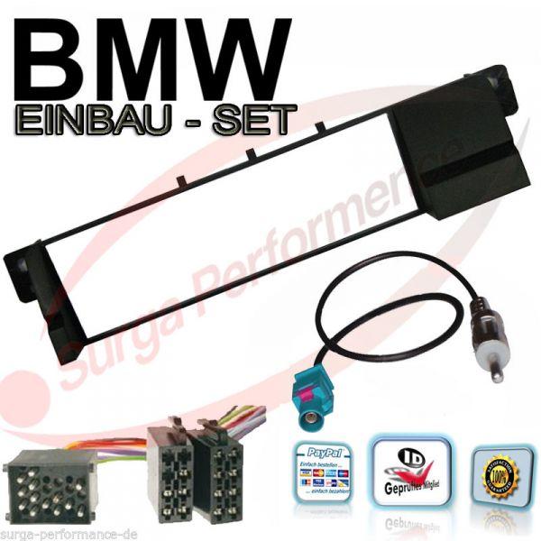 Einbaurahmen für BMW E46 3er Radioblende Radio Blende Autoradio Professiona