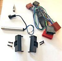 AUDI A4 Set B5 Rahmen Radio Blende Aktivsystem Adapter ISO Phantomeinspeisung