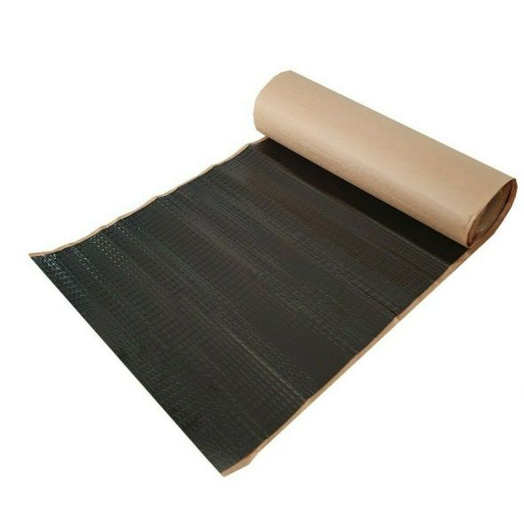 2,0 mm dick 2m² Alubutyl 50x400 cm Dämmmatte selbstklebend Anti Dröhn Matte Fahrzeugdämmung