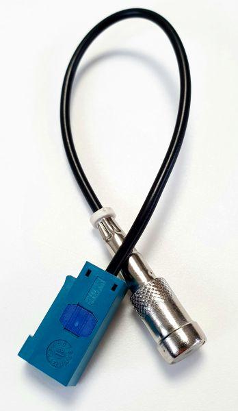 FAKRA (Z) Adapter / Stecker auf ISO für BMW