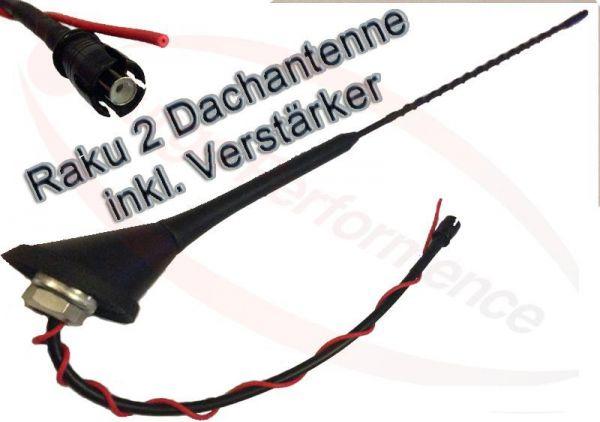 ANTENNENFUSS Raku2 Verstärker Antenne 40cm Sockel Dachantenne