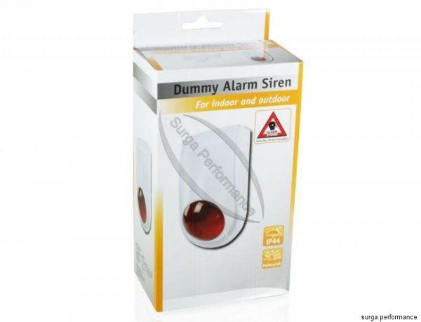 FAKE Alarm Anlage Attrappe Dummy Außen Sirene mit blinkender LED IP44 OVP