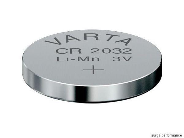 Original Varta CR2032 3V Lithium Knopfzelle